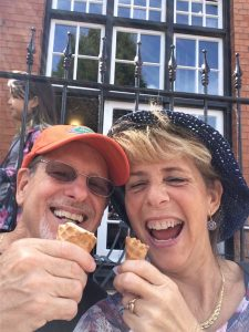 Ice Cream with Spouse at Stratford Upon Avon