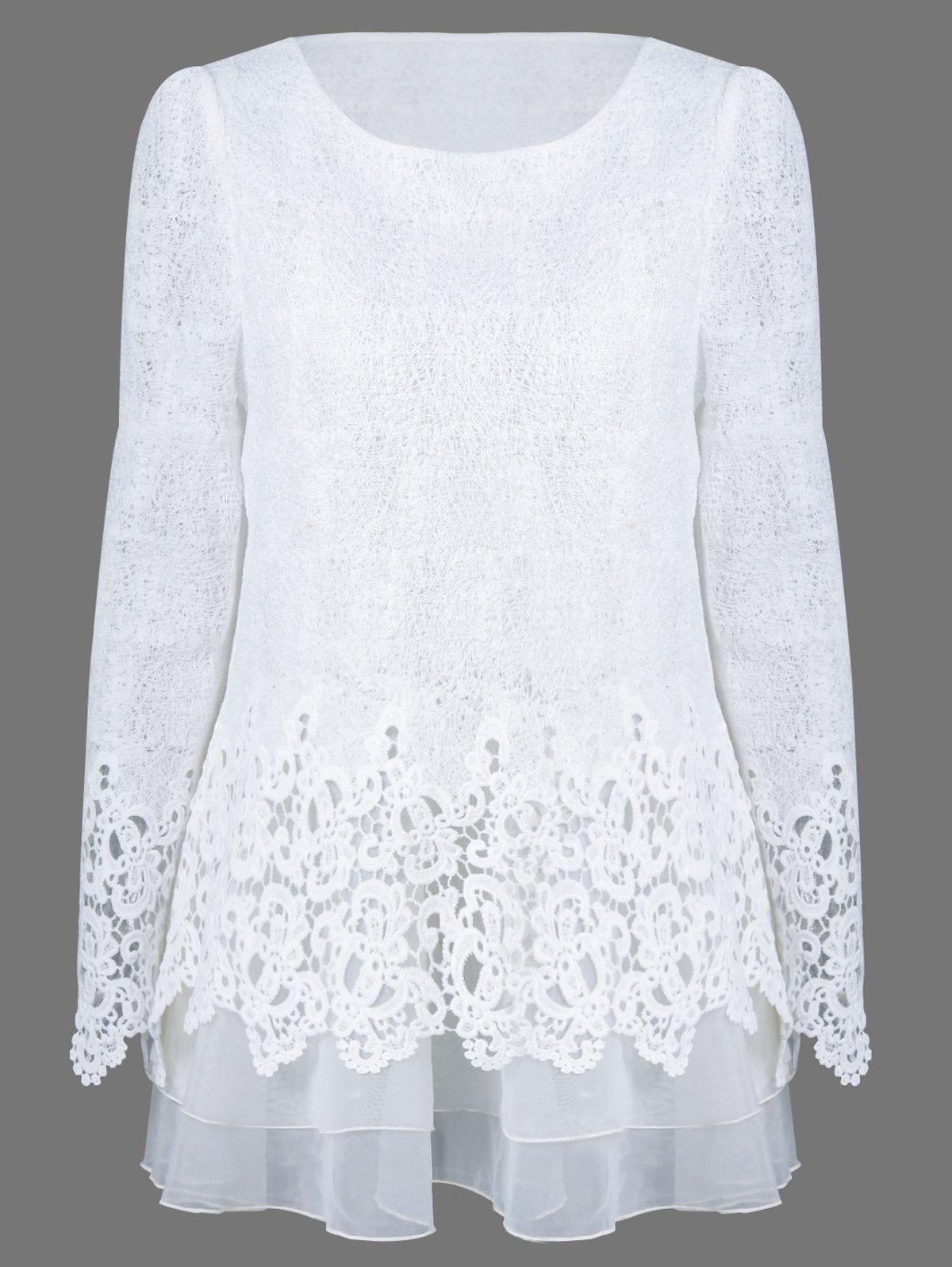 White Christmas Blouse 106
